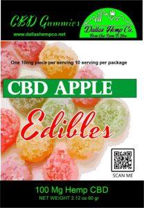Caramel Gummies Sugar-Free 10mg CBD Isolate