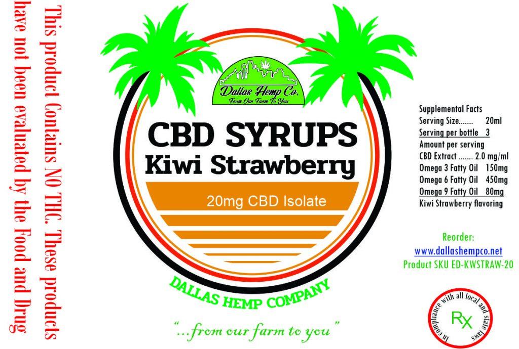 Tropical Syrups Dallas Hemp Co