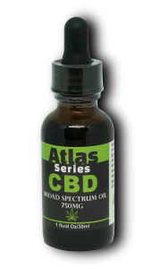 Broad Spectrum Tincture by Dallas Hemp Company